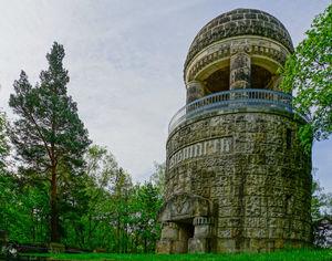Bismarckturm im Historischen Landschaftspark Spiegelsberge, Foto: Stefan Herfurth