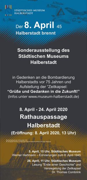 Sonderausstellung des Städtischen Museums Halberstadt