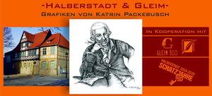 Halberstadt & Gleim - Grafiken von Katrin Packebusch