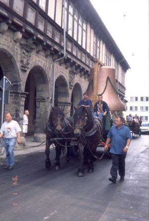 Glockentransport, Foto: Städtisches Museum Halberstadt