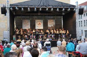 Sommerkonzert, Foto: Jugendblasorchester